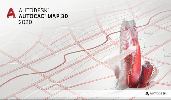 《Autodesk AutoCAD Map 3D v2019 x64 ISO》