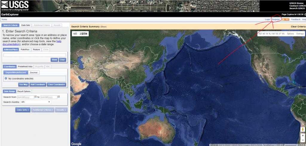 《Landsat 8 免费数据下载指南(USGS EarthExplorer、地理空间数据云)》