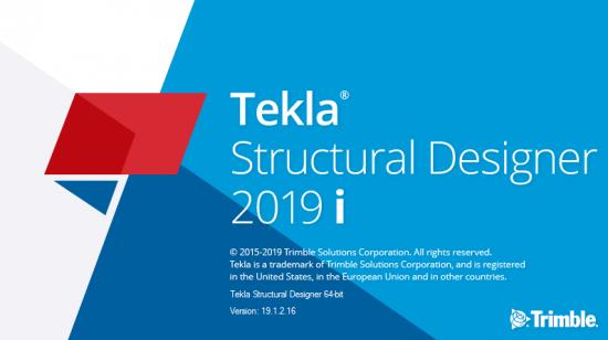 《Tekla Structural Designer 2019i SP2 v19.1.2.16 (x64)》