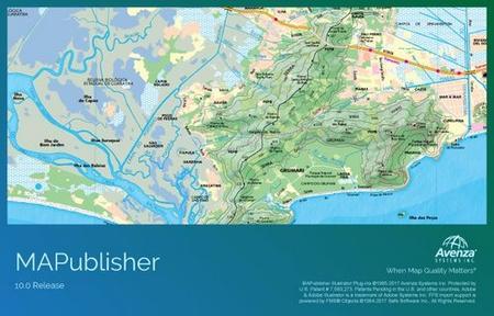 《Avenza MAPublisher for Adobe Illustrator 10.5》