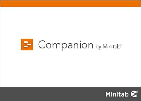 《Companion by Minitab 5.4.1.0》