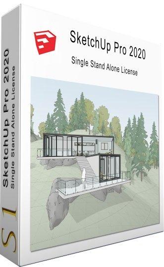 《SketchUp Pro 2020 v20.0.363 Multilingual》