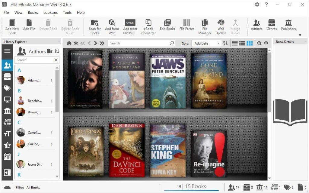 《Alfa eBooks Manager Pro / Web 8.4.6.1 Multilingual》