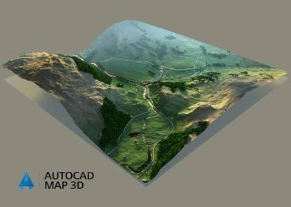 《Autodesk AutoCAD Map 3D 2021》