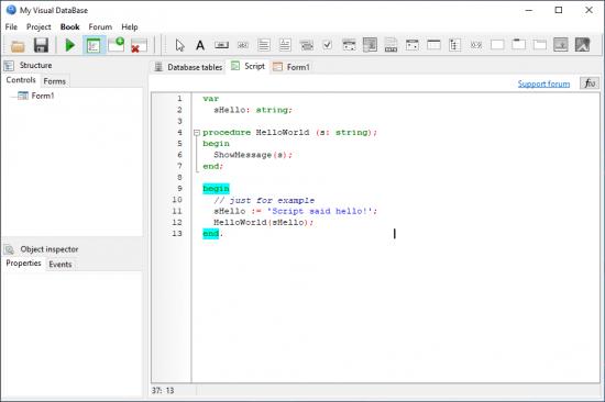 《My Visual Database 6.3》